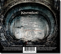 Kamelot - Poetry For The Poisoned (Back)