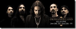 Orphaned Land - All Is One (annonce)